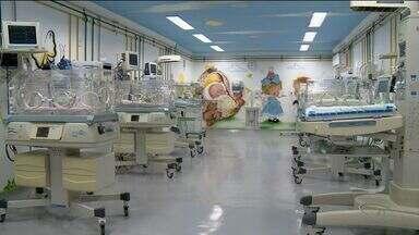Utin de Linhares, no Norte do ES, volta a funcionar após três anos - Sensação é de alívio para mulheres com gravidez de risco.