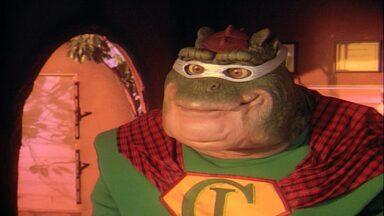 Dino, Não Seja Um Super Herói!