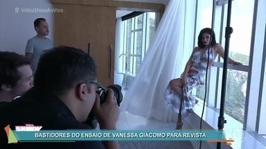Vanessa Giácomo posa para capa de revista - Atriz tira uma folga da detetive Antônia de 'Pega Pega' para curtir um dia de modelo