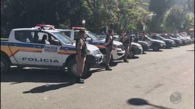 Policiais militares no Sul de MG fazem homenagens a militar morto por assaltantes - Policiais militares no Sul de MG fazem homenagens a militar morto por assaltantes