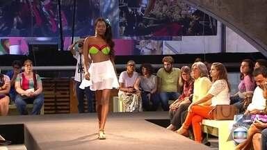 Fenearte recebe desfile com roupas criadas por sobrevivente de incêndio na Torre - Conhecida como Luka, Luciene Soares da Silva salvou os desenhos de moda que tinha feito desde criança.