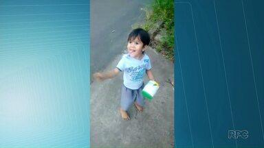 Boatos atrapalham investigações de crianças desaparecidas no Paraná - Um dos casos é o do menino Luiz Felipe, que desapareceu em Telêmaco Borba.