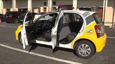 Policiais militares reclamam que têm que andar em camburão, por falta de espaço em viatura - Novas viaturas, chamadas de humanizadas foram entregues no mês passado pelo Governo do Estado.