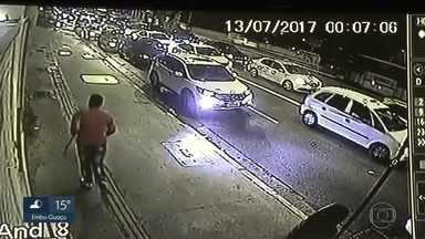 Tribunal de Justiça decreta prisão preventiva de um dos suspeitos da morte de palmeirense - Câmeras de segurança revelam como foi a briga.