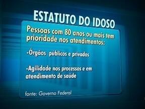 Lei que altera o Estatuto do Idoso é publicada no Diário Oficial - Quem tem 80 anos ou mais terá prioridade máxima em determinados atendimentos.