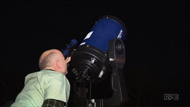 Parque da Ciência promove evento de observação de estrelas e planetas - A observação é feita com ajuda de telescópios.