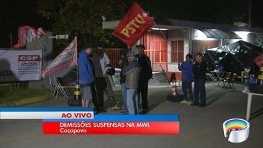 Demissão de trabalhadores da MWL está suspensa em Caçapava - Decisão é do TRT.