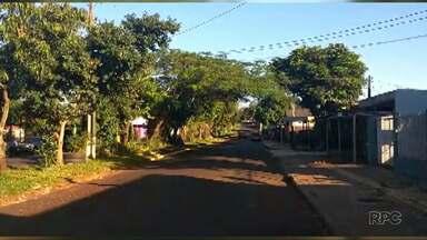 Está preso o suspeito de ter matado um rapaz na madrugada desta quinta, em Foz - O crime foi no no Jardim São Paulo.