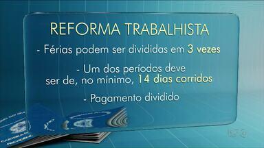 Reforma trabalhista é sancionada pelo presidente Michel Temer - Veja o que muda para trabalhadores e empresas.