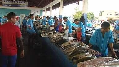 Pescadores participam de oficina para mapeamento participativo de pesca artesanal - Debate faz parte do Plano de Desenvolvimento Sustentável da Região. Encontro foi realizado na sede da Z-20.