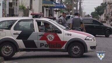 Policiamento em Praia Grande recebe batalhão da Força Tática - Mais de 60 policiais vão reforçar o patrulhamento na cidade.
