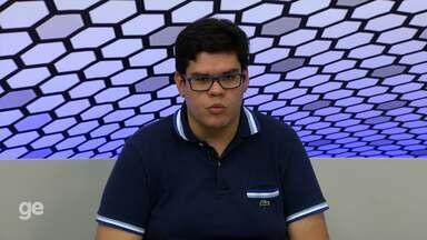 Resenha do GE: Comentaristas destacam estreia de Thiago Potiguar no Campinense - Comentaristas do GloboEsporte.com analisam partida da Raposa contra o Flu de Feira