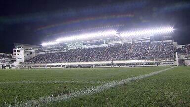 Sereias da Vila lotam estádio do Santos na final do Brasileiro - Partida foi contra o Corinthians.