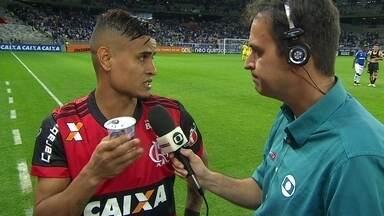 Everton lamenta empate sofrido após recuo do Flamengo - Everton lamenta empate sofrido após recuo do Flamengo