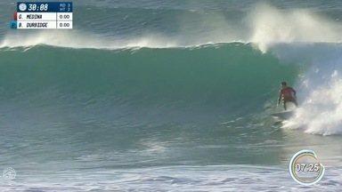 Medina e Toledo avançam na etapa da África do Sul do Mundial de Surfe - Dupla avança à quarta fase na bateria.