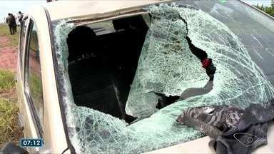 Juíza decreta prisão preventiva de motorista que atropelou família em Vila Velha, ES - Dois homens morreram na hora. Uma criança de 2 anos foi levada para o hospital com traumas nas pernas e nos braços