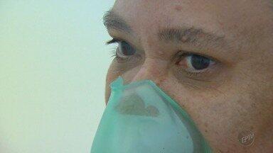 Pessoas que sofrem de asma precisam tomar cuidados específicos com o tempo frio - Pessoas que sofrem de asma precisam tomar cuidados específicos com o tempo frio