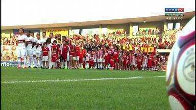 CRB conta com o lateral Marcos Martins em jogo contra o Juventude - Partida será realizada nesta terça-feira (18).