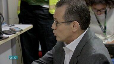 Ex-governador Silval Barbosa confirma à justiça que liderava esquema de propina - Ex-governador Silval Barbosa confirma à justiça que liderava esquema de cobrança de propina.