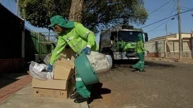 Caminhão da coleta seletiva não passa em 25% dos bairros de Campo Grande - Moradores dos locais onde caminhão da coleta seletiva não passa podem depositar materiais recicláveis nos Locais de Entrega Voluntária (LEVs).