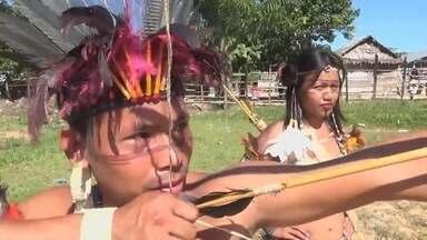 Em Tabatinga, no AM, Festival de Música reúne índios do Alto Solimões - Evento teve objetivo de destacar tradição e cultura.