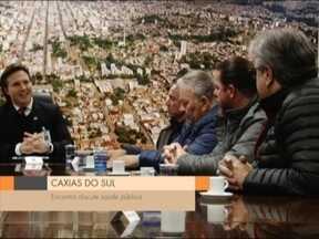 Comissão de saúde da Câmara teve encontro com prefeito de Caxias do Sul, RS - Vereadores questionaram sobre a paralisação dos médicos que completou 3 meses.