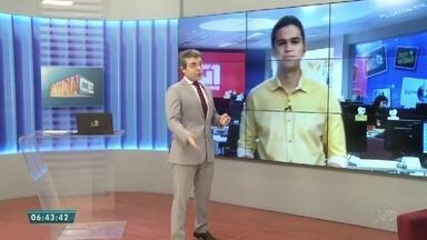 Confira os destaques do G1 do Bom Dia Ceará desta quarta-feira (19) - Saiba mais em g1.com.br/ce