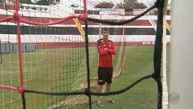 Atacante Wesley é considerado o talismã do Botafogo-SP - Jogador está em evidência após gol da vitória em cima do Bragantino na última segunda-feira (17).