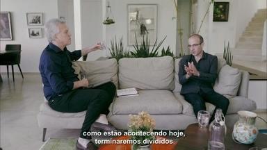 """Yuval Noah Harari fala sobre mudanças no mundo e insatisfação das pessoas - Stevens Rehen defende a importância dos governantes lerem """"Sapiens - Uma Breve História da Humanidade"""""""