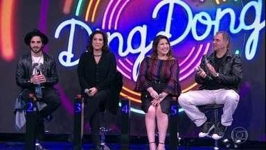 Fiuk e Totia Meireles, Mariana Xavier e Humberto Martins são as duplas do 'Ding Dong' - Faustão apresenta os participantes do quadro do domingo, 23/7!