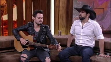 Fernando e Sorocaba revelam os segredos para fazer sucesso no meio da música - Dupla usa o sertanejo universitário para exemplificar