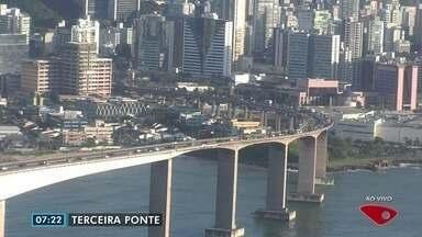 Confira imagens do trânsito na Grande Vitória nesta sexta-feira (28) - Câmeras mostram as principais vias da região.