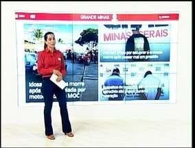 Menores detidos com simulacro de arma e celulares roubados são destaque do G1 - De acordo com a Polícia Militar, menores, de 16 e 17 anos, são suspeitos de cometerem crimes de furto e roubo na região do Bairro Planalto.