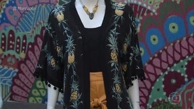 Estampas de abacaxi viram as queridinhas da moda - Dani Ferraz dá dicas para usar a moda do abacaxi sem medo de errar