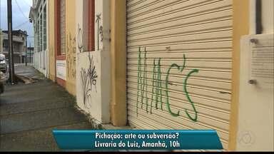 Iphaep promove o debate: Pichação, arte ou subversão? - O debate acontecerá na Livraria do Luiz e contará com a participação de antropólogos e historiadores.
