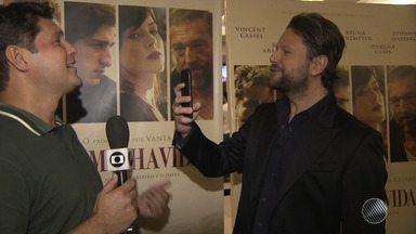 Selton Mello lança 'O Filme da Minha Vida' em cinema de Salvador - Confira os detalhes do filme que é dirigido e atuado por Selton.