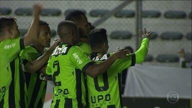 Confira os gols da rodada de sexta-feira na Série B - América-MG é o líder da competição.