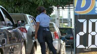 Revendedores de combustível do Maranhão fazem protesto por alta no preço - No Maranhão, 30 postos de combustível aderiram ao movimento.