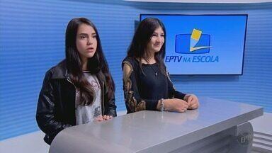 Começam as visitas dos alunos selecionados no Projeto EPTV na Escola em Varginha (MG) - Começam as visitas dos alunos selecionados no Projeto EPTV na Escola em Varginha (MG)