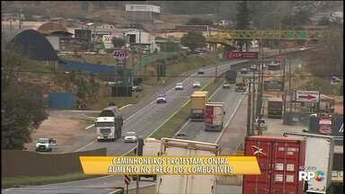 Liminar impede fechamento de rodovia por caminhoneiros - Multa para quem descumprir a decisão pode chegar a R$ 50 mil