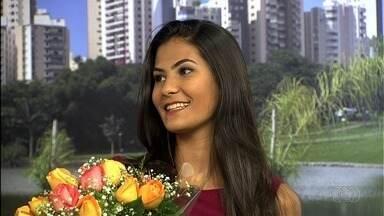 Kamila Simiema é eleita a Musa do Araguaia 2017 com quase 77% dos votos - Moradora de Goiânia, ela tem 18 anos e faz cursinho pré-vestibular. Jovem disputou o título com outras quatro beldades.