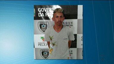 Polícia prende suspeito de assaltar cursinho em Campina Grande - Fabrício Santos Silva, de 19 anos, foi preso no bairro do Araxá.