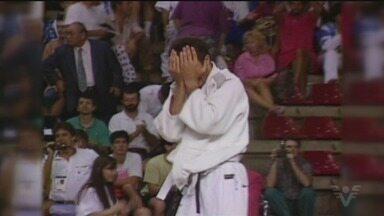 Judoca Rogério Sampaio celebra 25 anos do ouro olímpico - Homenagens marcam o dia do atleta.