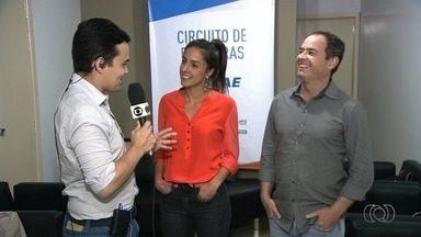 Jornalistas Clayton Conservani e Carol Barcellos ministram palestra em Goiânia - Ambos vão contar experiências vividas no programa Planeta Extremo.