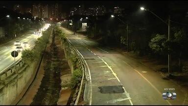 Após obras, Marginal Botafogo deve ser liberada para tráfego na quarta-feira (2) - Trabalho demorou um mês.