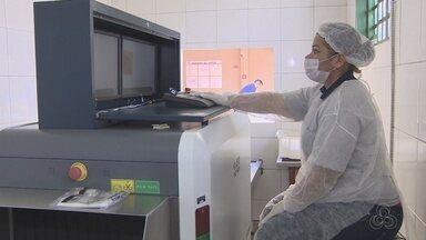Aparelhos de raio-x são instalados em prisões do Amazonas - Ideia é que aparelhos ajudem a coibir entrada de materiais proibidos.