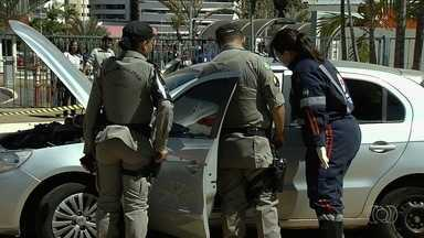 Homem é morto a tiros próximo a shopping de Goiânia - Polícia disse que vítima tem passagens por homicídio.