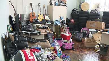 Casa na zona leste escondia mais de 100 mil reais em produtos roubados e furtados - Quem suspeitar que seja dona de algum desses produtos deve procurar a polícia.