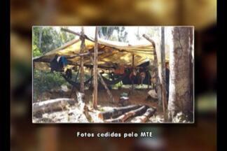Operação resgata 16 homens em situação semelhante à escravidão em Altamira, no PA - Os trabalhadores estavam alojados em barracos de lona, tomando água de um riacho e sem instalações sanitárias.