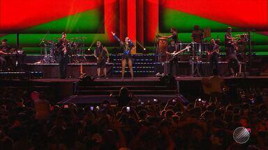 Show de Ivete Sangalo no Festival de Verão tem alteração de data - Artista iria se apresentar no segundo dia do evento, mas vai cantar no primeiro.